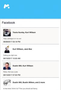 Spiare le conversazioni o la messaggistica chat