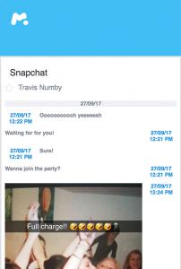 spiare foto e testi su SnapChat